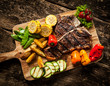 Delicious steakhouse porterhouse steak - 66523018