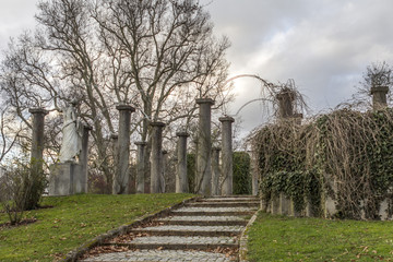 Park Mittlere Schlossgarten Stuttgart Germany
