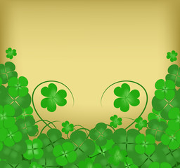 Happy Patricks Day background