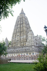 View of Mahabodhi Temple