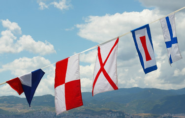 Marine flags 1