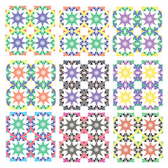Traditional Italian Tile Pattern of Arabian origin
