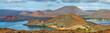 Постер, плакат: Panoramic view of pinnacle Rock and surroundings in Bartolome