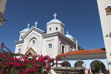 Church of Agia Paraskevi at Kos island in Greece