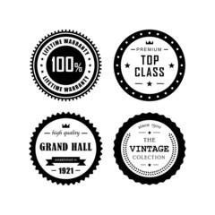 Vintage badges 4