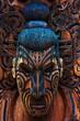 Leinwanddruck Bild - Maori Totem