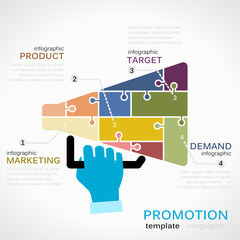 Promotions infographics