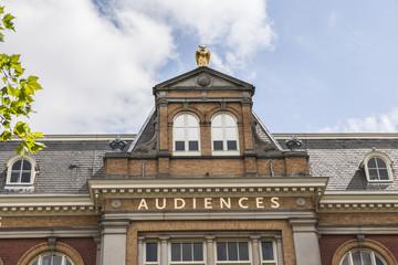 Gebäude einer TV-Produktionsstelle in Amsterdam