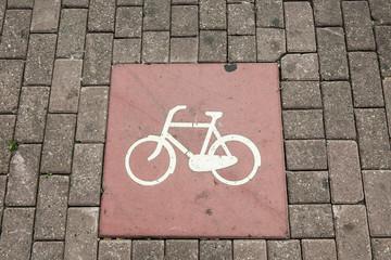 Parkplatz für Fahrräder