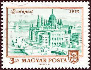 Parliament Building, Budapest (Hungary 1972)