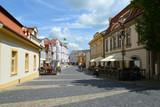 Czech Republic. Townscape Melnik poster