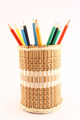 Pencils and pencil-holders