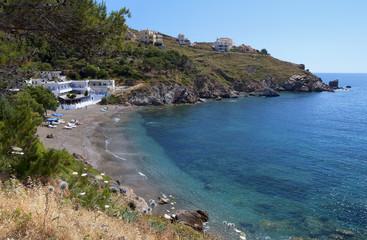 Melitsahas bay at Kalymnos island in Greece