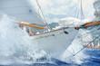 canvas print picture - Yacht, dettagli