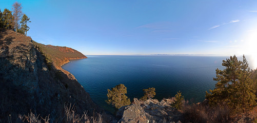 View of Lake Baikal. Russia