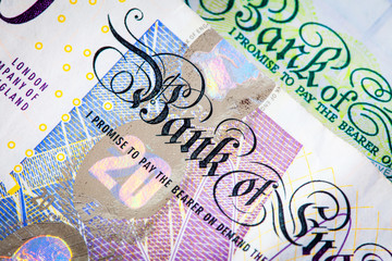 Twenty Pound Note Close-Up