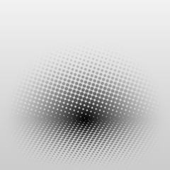 abstract background with halftone effect