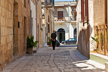 Martano, vicolo nel centro storico - Puglia - Italy