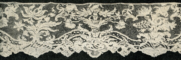 Argentan lace (France, Normandy)