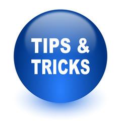 tips tricks computer icon on white background