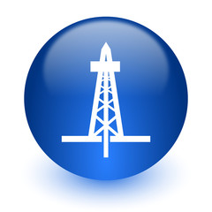 drilling computer icon on white background