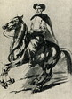 Polish horseman by Piotr Michałowski