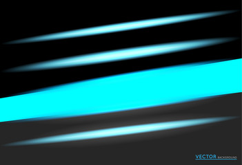 abstract dark background with neon lights effect