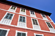 historic houses in Sassello, Savona, Italy