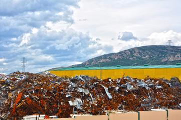 Puertollano, gestión de residuos, industria de la chatarra