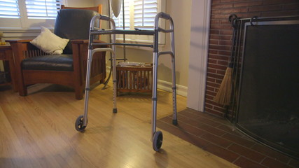 walker, disabled, living room, mobility, health care, equipment,
