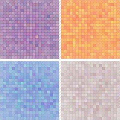 Abstract pixelated colourful background-variation