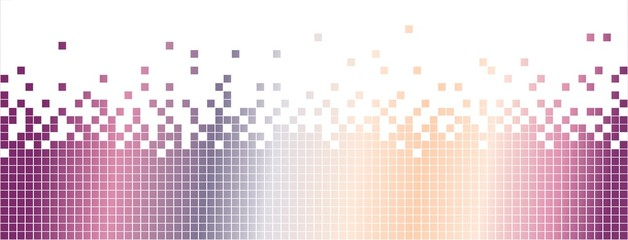 Abstract pixelated background-rainbow gradient