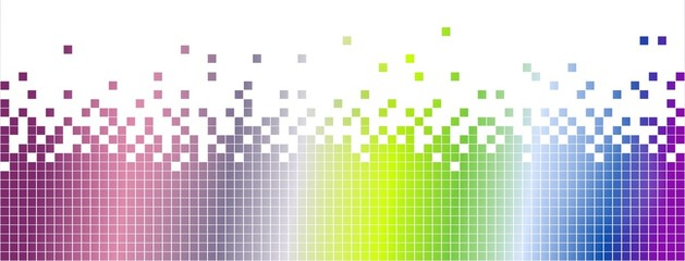Abstract colourful mosaic background-pixelated
