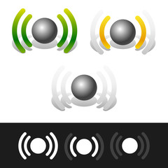 Signal strenght indicators