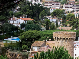 Tossa de Mar in Spain