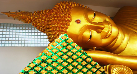 Reclining Buddha in Thailand