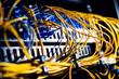 Fiber-optic equipment in a data center - 66545035