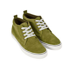 Sneakers isolated with path