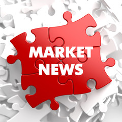 Market News on Red Puzzle.