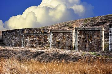Puertollano, ruinas de un antiguo puente, pasado