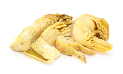 Artichoke heart segments