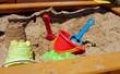 Leinwanddruck Bild - Pit sand