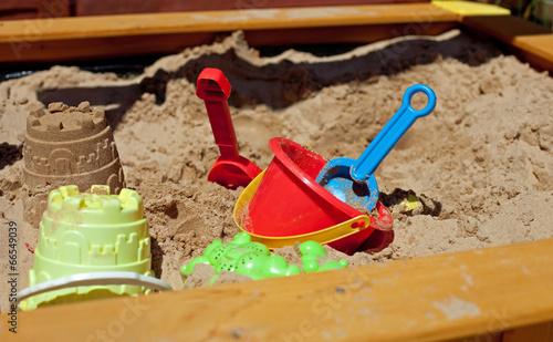 Leinwanddruck Bild Pit sand