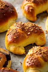 Yeast croissants