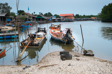 Thai fishing boats