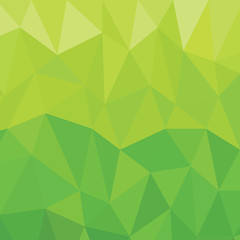 Geometric green Background Vector