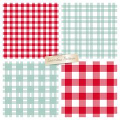 Vector plaid seamless pattern