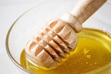 Honey In A Bowl