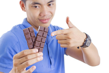 Man And Chocolate