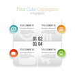 Four Cube Copyspace